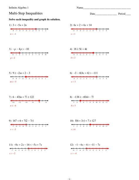 Kuta Math Worksheets Algebra 1  Kuta Math Worksheet Imateisolving Systems Of Inequalities