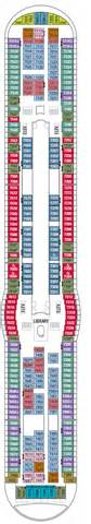 deck 7 navigator of the seas deck plans royal