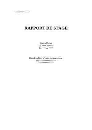 rapport de stage bts cgo cabinet notices et pdf gratuits