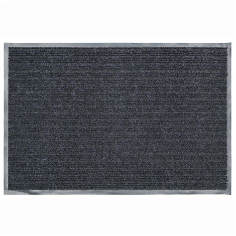 Commercial Doormats by Trafficmaster 36 In X 48 In Charcoal Commercial Door Mat
