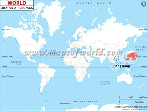 hong kong located  world map hong kong