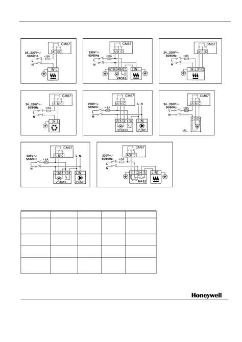 Honeywell Chronotherm Plus Wiring Diagram