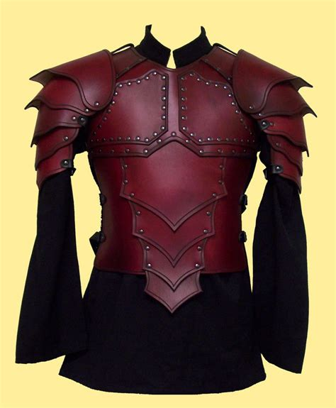 custom designed leather armor  wishlist pinterest