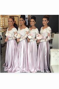 long sleeves lace wedding guest dresses bridesmaid dresses With long sleeve dresses for wedding guest