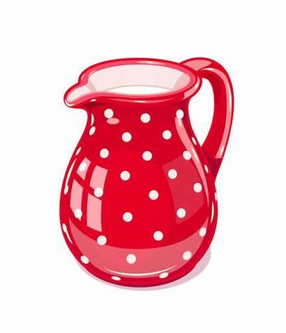 Jug Loam Vector Milk Ceramic Illustration Illustrations