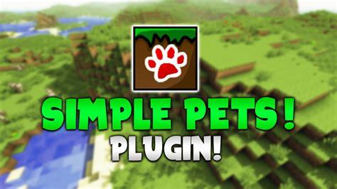 simple pets minecraft plugin tutorial