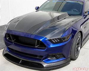 AC-HD15FDMU-CJ Anderson Composites | Type-CJ 3 Inch Carbon Fiber Cowl Hood Ford Mustang GT