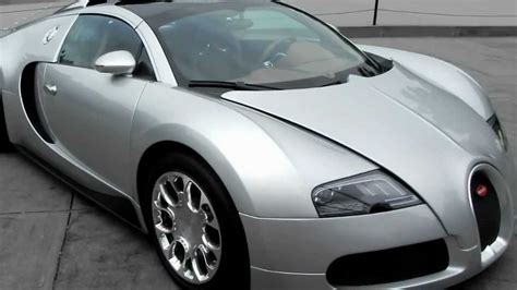 7 993 alésage x course (mm): Silver BUGATTI VEYRON Grand Sport W16 quad turbocharged - YouTube