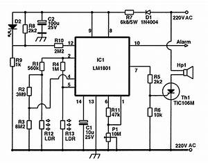 ldr led smoke detector With fire alarm systems circuit diagram furthermore rf power lifier circuit