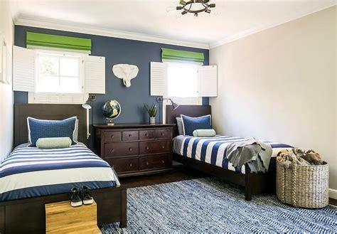 blue  gray boy bedroom  bed  window