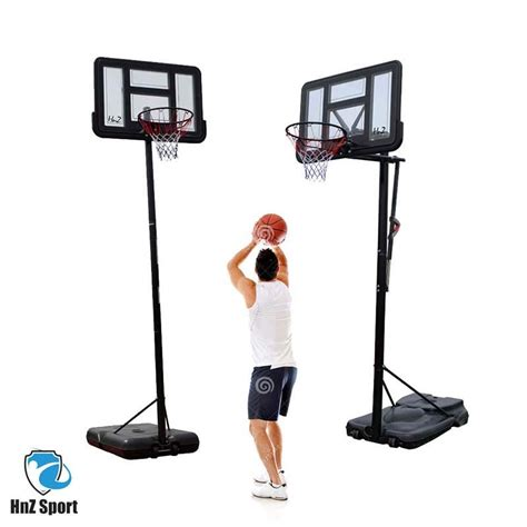 nba height portable basketball hoop    pm