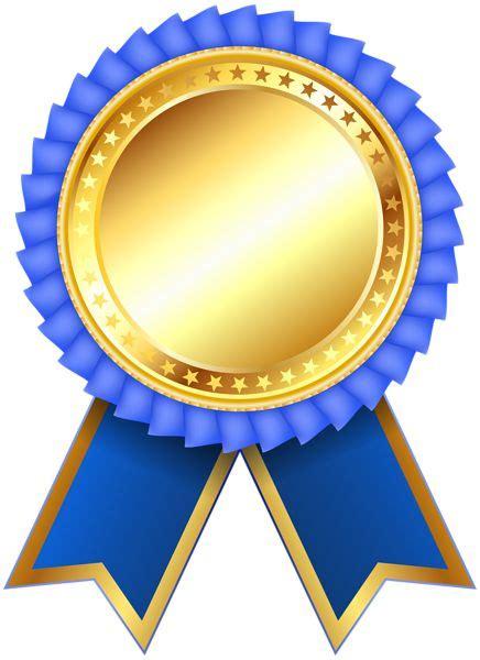 blue award rosette png clipar image ribbon png