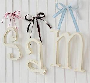 nursery decor nursery wooden letters With little wooden letters