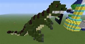 Image Gallery minecraft t rex