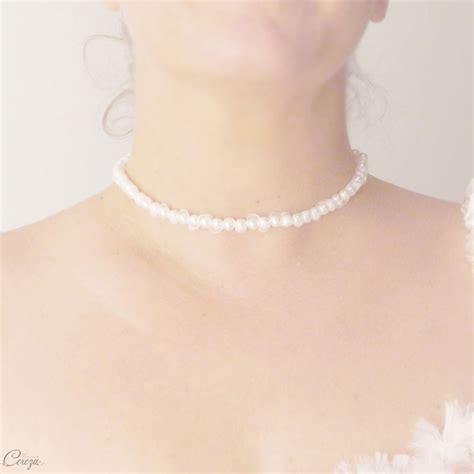ras de cou perle collier de mari 233 e ras de cou perles organza personnalisable