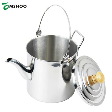kettle camping pot stainless coffee tea steel outdoor water 3000ml walmart hiking lightweight amazon metal silver 2000ml kettles ay strong