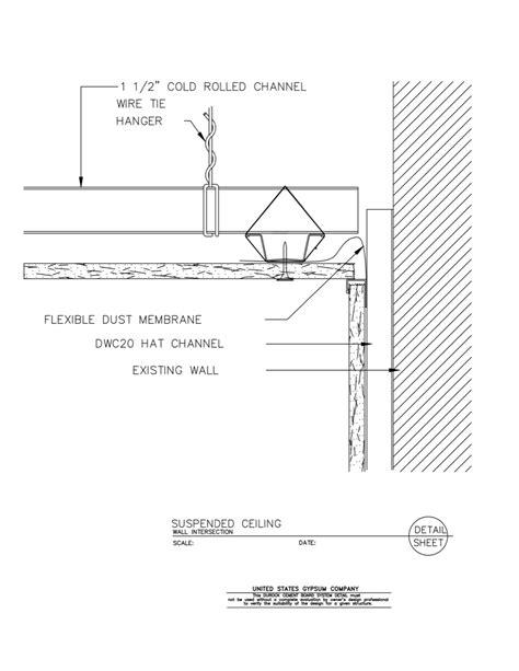 USG Design Studio | Acoustical Ceiling Assembly - Download