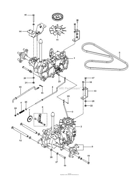 husqvarna rzi    parts diagram