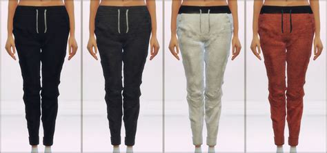 Jogging Pants In 8 Colors For Females By