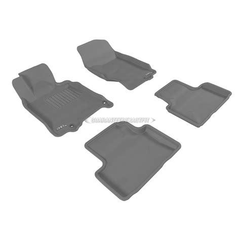 infiniti  floor mat set sedan kagu gray dual