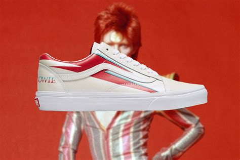 vans pay tribute  david bowie    collection
