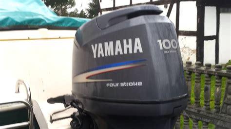 yamaha f100 hp outboard motor 2004r four stroke 4 suw