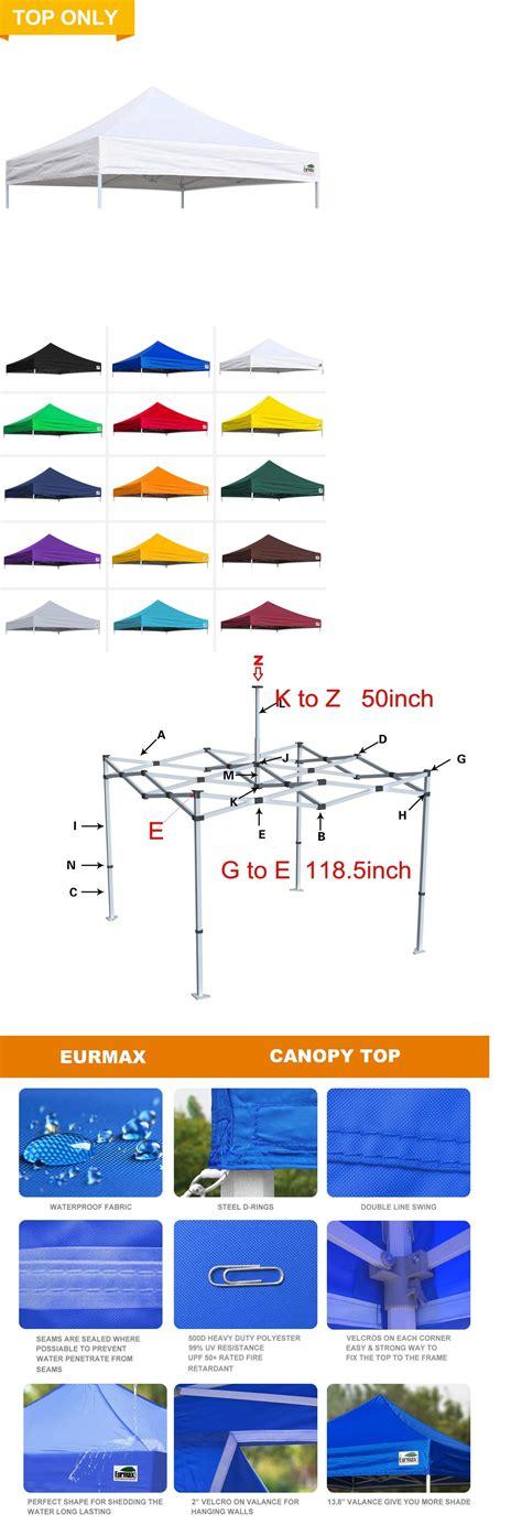 details   replacement patio canopy top cover fit ez pop  patio canopy caravan tent