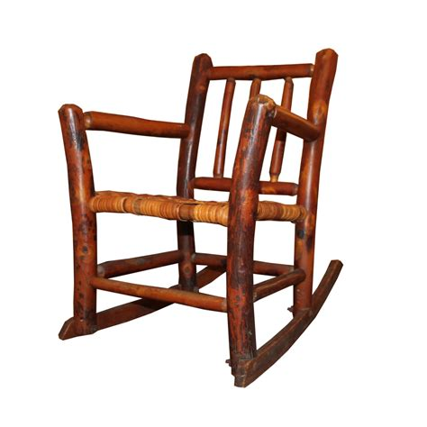 child s hickory rocking chair foxglove antiques