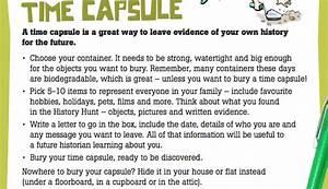 time capsule essay