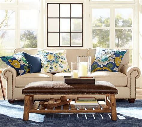 Pottery Barn Loveseat by Webster Upholstered Sofa Pottery Barn