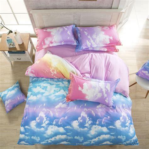 comforter sets on sale harajuku galaxy sheet bedding bag four