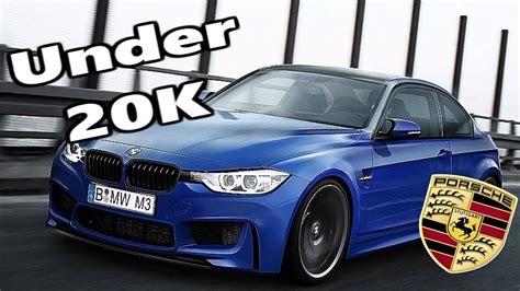 Top 5 Sporty Cars Under £20,000  Cheap Sports Cars Bmw