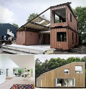 Moderne Container Häuser : modulhaus aus containern nice pinterest container container h user und architektur ~ Whattoseeinmadrid.com Haus und Dekorationen