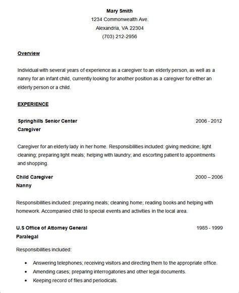 gallery  resume examples basic  resume collection