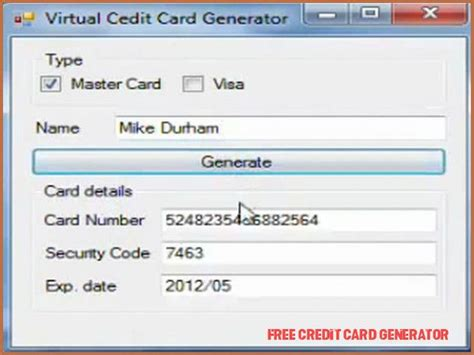 Powerful and easy to use. The 8 Common Stereotypes When It Comes To Free Credit Card Generator   free credit card ...