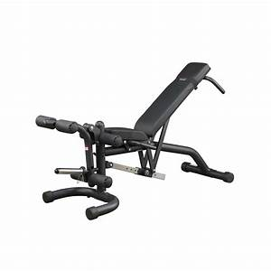 Body-solid Fid46 Flat Incline Decline Bench W   Leg Developer