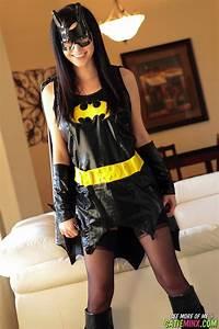 Catie Minx Batgirl RedBust