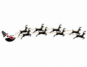 Free Santa And Reindeer Clipart (47+)