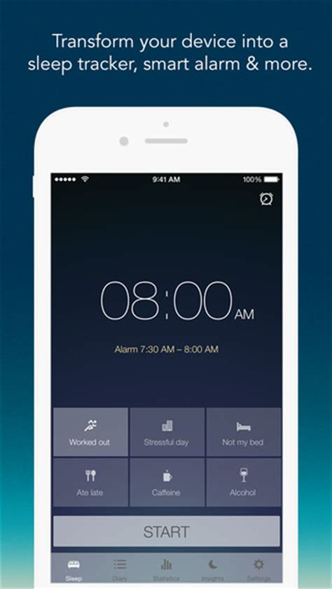sleep app iphone sleep better smart alarm clock sleep cycle tracker on