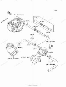 Kawasaki Atv 2006 Oem Parts Diagram For Fuel Pump