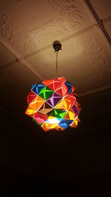 artistic handmade paper lampshades