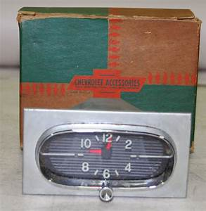 Nos Impala Parts    Interior    Dashboard Gauges  U0026 Accessories    1958 Chevrolet Dash Electric