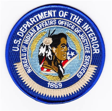united states department of interior bureau of indian affairs fed bureau of indian affairs office of justice services
