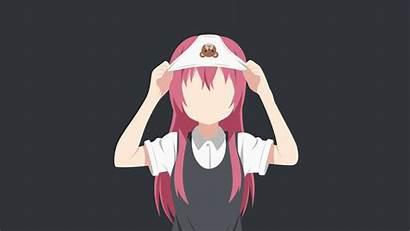 Yuri Akaza Akane Yuru Minimalism Carionto Anime