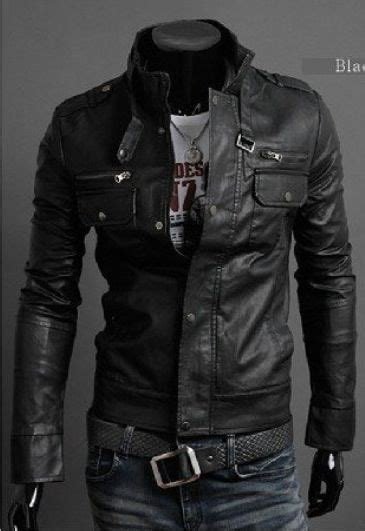 Cool Men Leather Jacket Style Mens Fashion