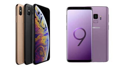 iphone xs 2018 apple iphone xs vs samsung galaxy s9 2018 tech co