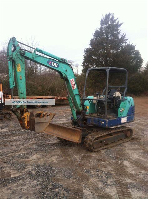 ihi  compact excavator trackhoe  bucket  quick attach