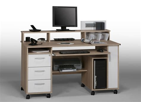 bureau u bureau pour ordinateur fixe