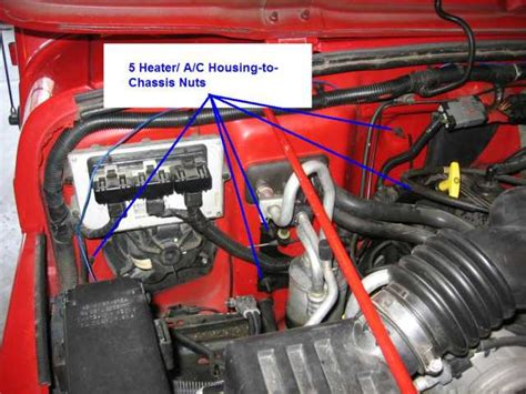 replace  heater core   jeep wrangler tj