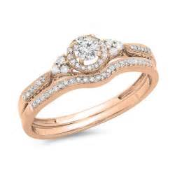 beautiful wedding ring sets beautiful half carat wedding ring set for in gold jewelocean